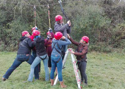 Teamweekend Les Ondes
