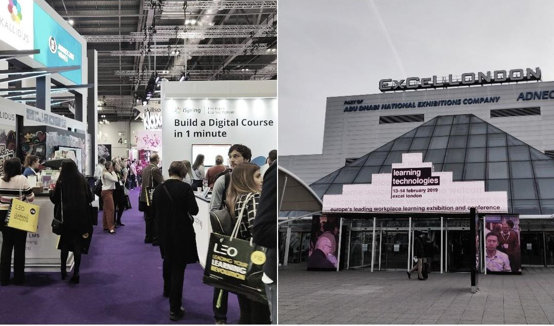 Blog post | Throwback to Learning Technologies 2019